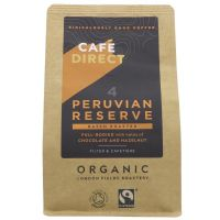 Cafe Direct Organic Peruvian Reserve Ground Coffee 6 x 227g